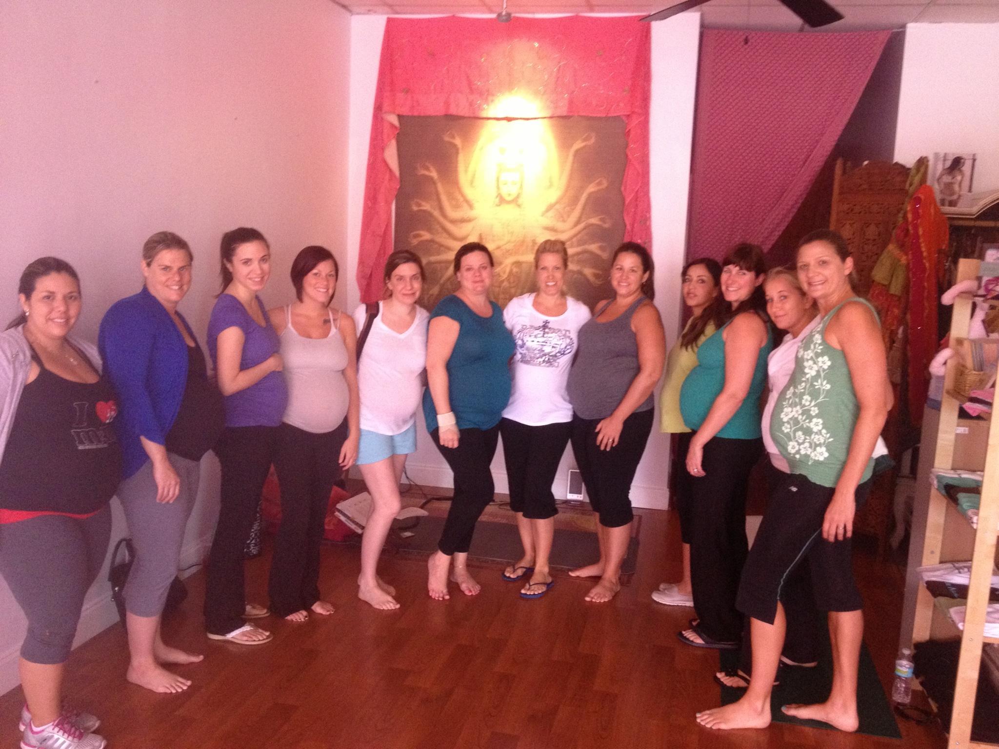 prenatal yoga community at The Red Tent